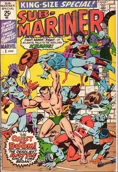 Sub-Mariner Special 1-A by Marvel
