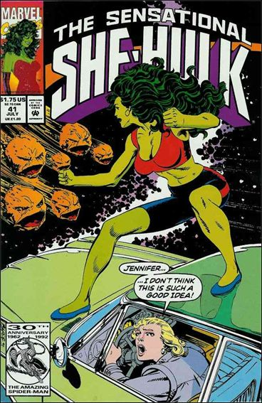 Sensational She-Hulk 41-A by Marvel