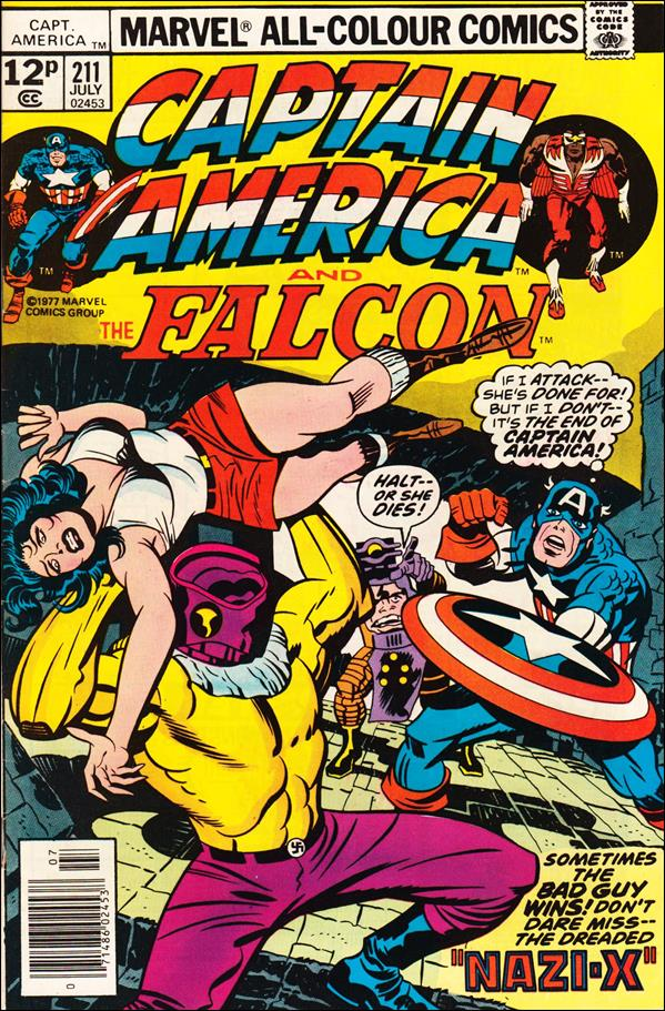 Captain America (1968) 211-C by Marvel
