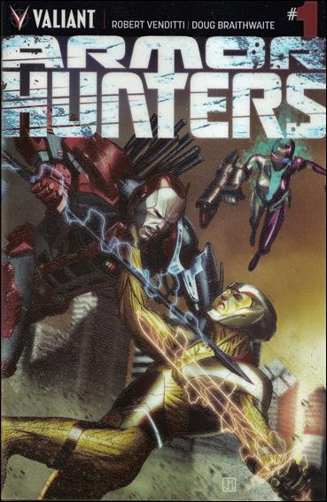 Armor Hunters 1-B by Valiant Entertainment