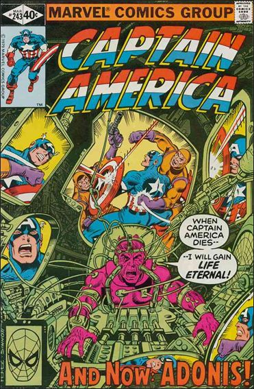 Captain America (1968) 243-A by Marvel
