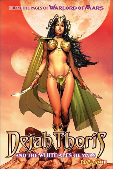 Dejah Thoris and the White Apes of Mars 1-A by Dynamite Entertainment