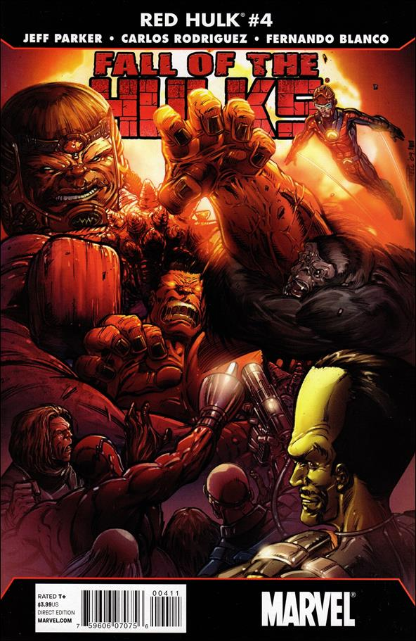Fall of the Hulks: Red Hulk 4-A by Marvel