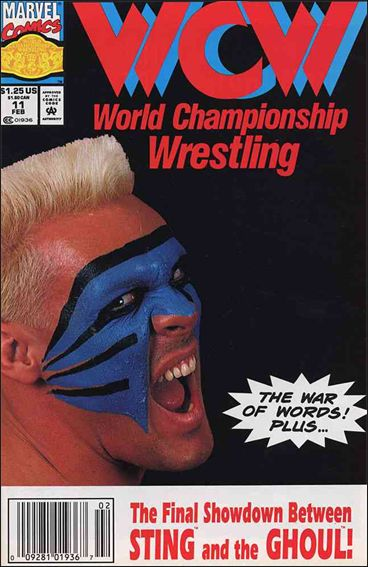 WCW: World Championship Wrestling 11-A by Marvel