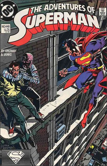 Adventures of Superman (1987) 448-A by DC