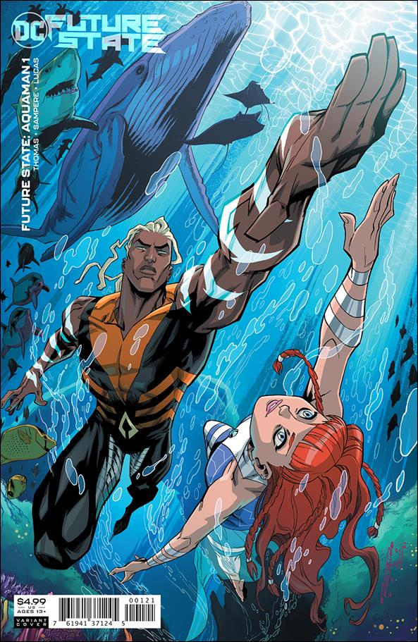 Future State: Aquaman 1-B by DC