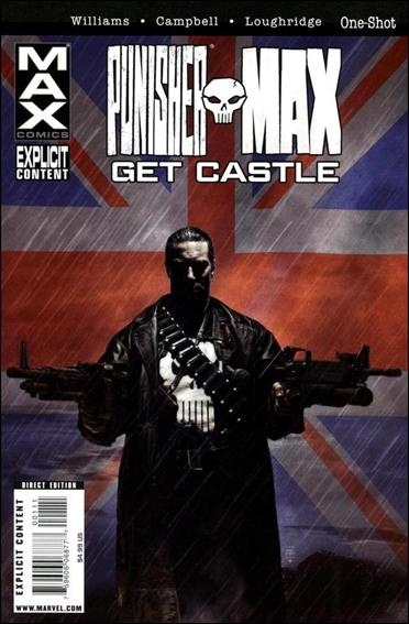 Punisher Max: Get Castle 1-A by Max