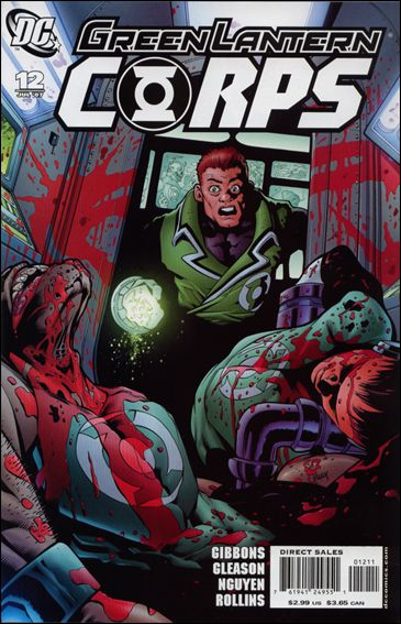 Green Lantern Corps (2006) 12-A by DC