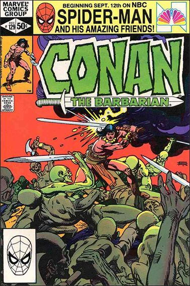 Conan the Barbarian (1970) 129-A by Marvel