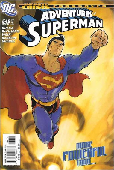 Adventures of Superman (1987) 648-A by DC