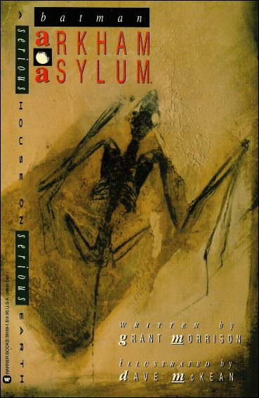 Arkham Asylum 1-B by DC