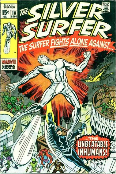 Silver Surfer (1968) 18-A by Marvel