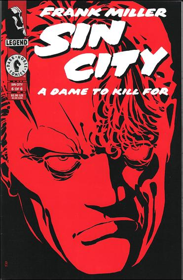 Sin City: A Dame to Kill For 6-A by Dark Horse