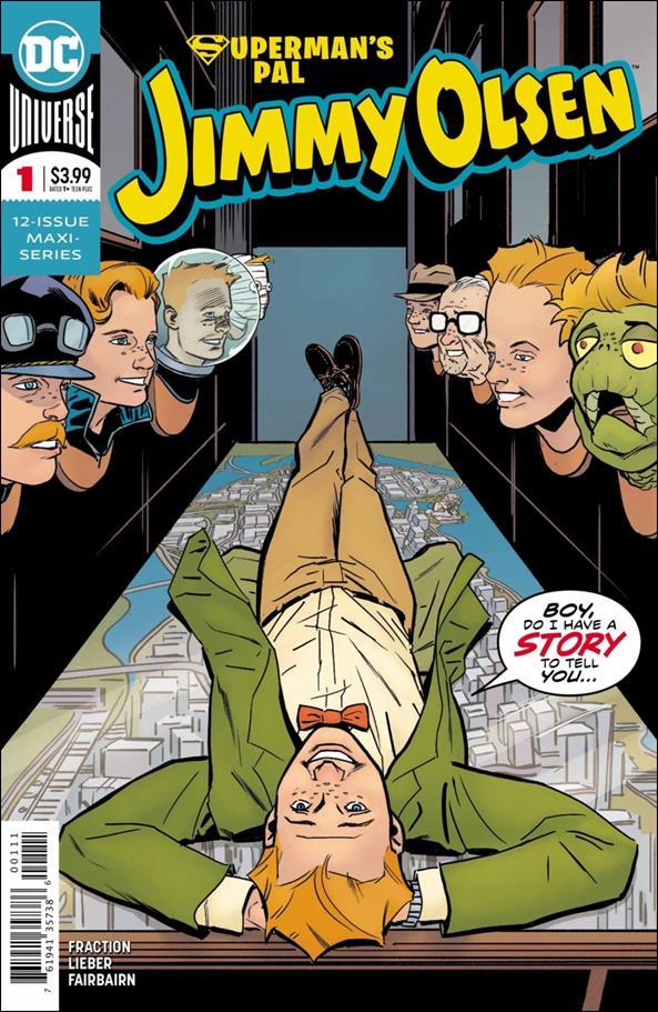 Superman's Pal Jimmy Olsen (2019) 1-A by DC