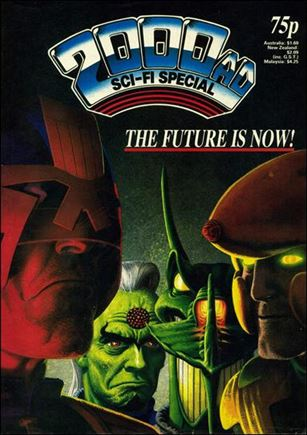 2000 A.D. Sci-Fi Special 10-A