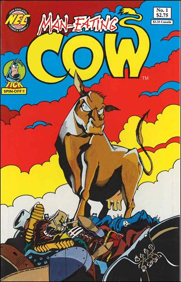 Man-Eating Cow 1-A by New England Comics Press (NEC / NECP)