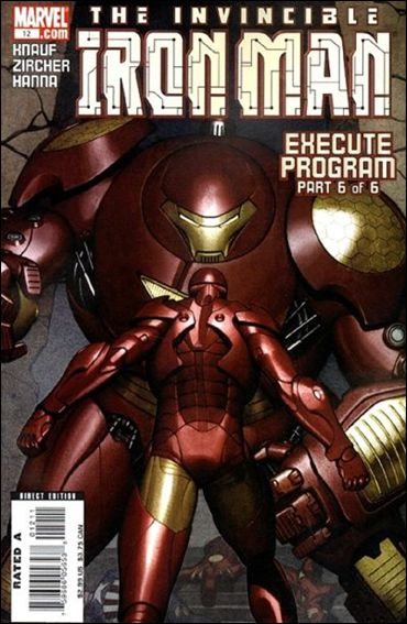 Invincible Iron Man (2005) 12-A by Marvel