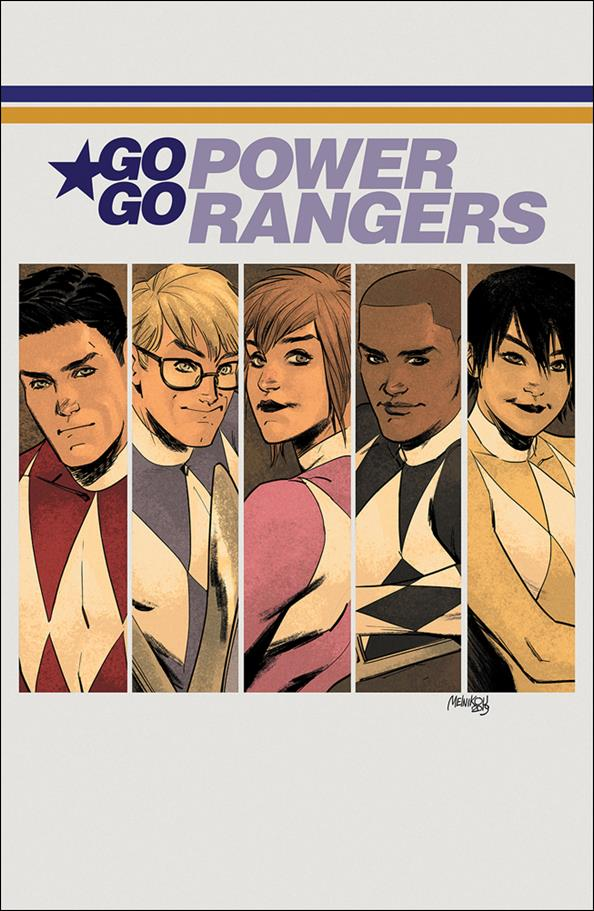 Saban's Go Go Power Rangers 22-D by Boom! Studios