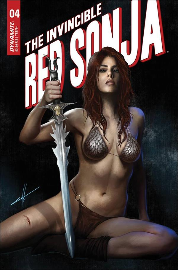 Invincible Red Sonja 4-I by Dynamite Entertainment