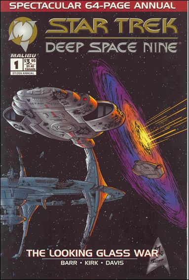 Star Trek: Deep Space Nine Annual 1-A by Malibu