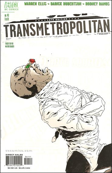 Transmetropolitan 41-A by Vertigo