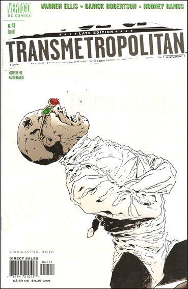 Transmetropolitan 41-A by Vertigo
