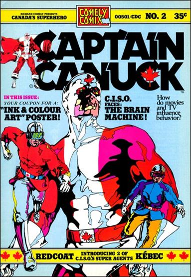 Captain Canuck (1975) 2-A by Comely Comix