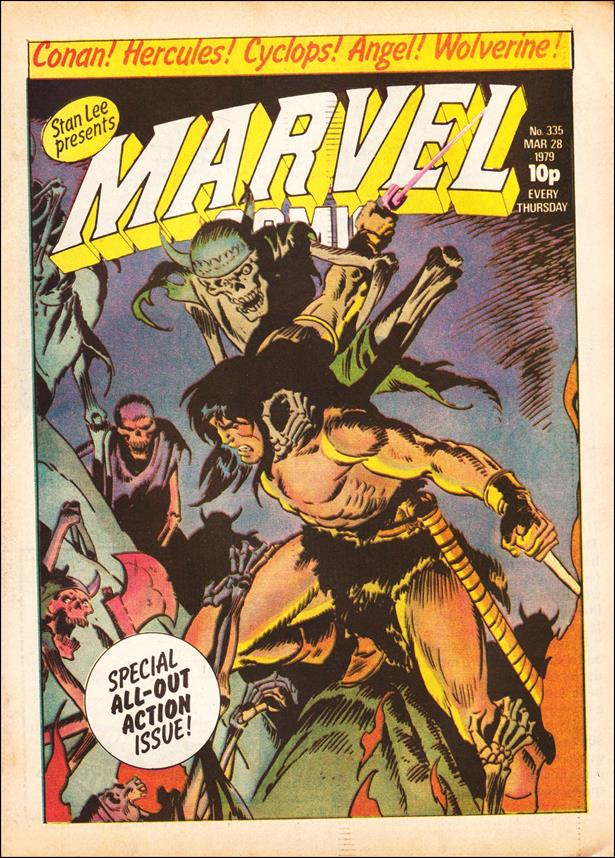 Marvel Comic (UK) 335-A by Marvel UK