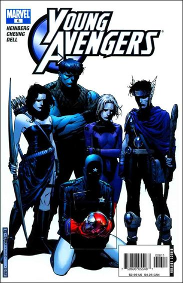 Young Avengers (2005) 6-A by Marvel