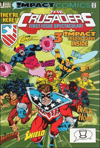 Crusaders (1992) 1-A by Impact Comics