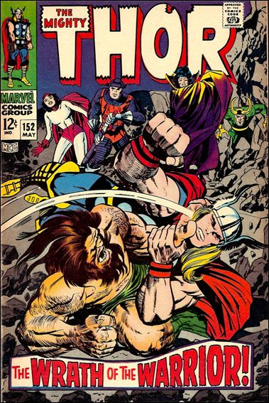 Thor (1966) 152-A by Marvel