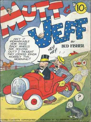 Mutt & Jeff 1-A by DC