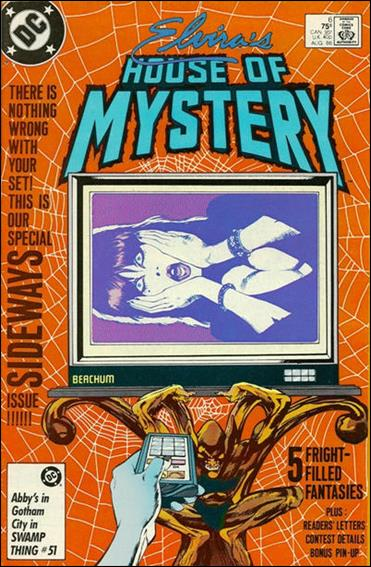 Elvira's House of Mystery 6-A by DC
