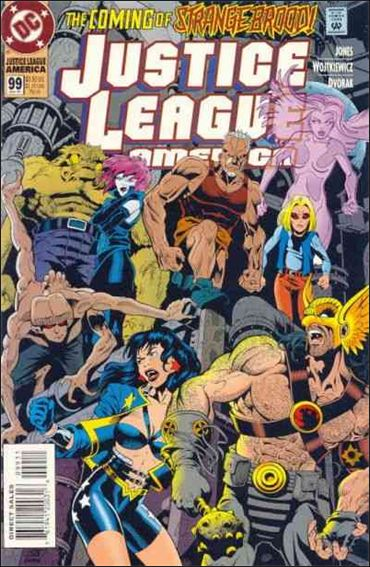 Justice League America 99-A by DC