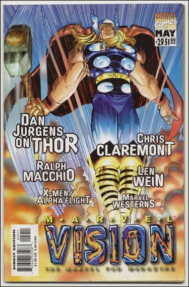 Marvel Vision 29-A by Marvel