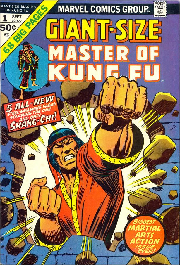 Giant-Size Master of Kung Fu 1-A by Marvel