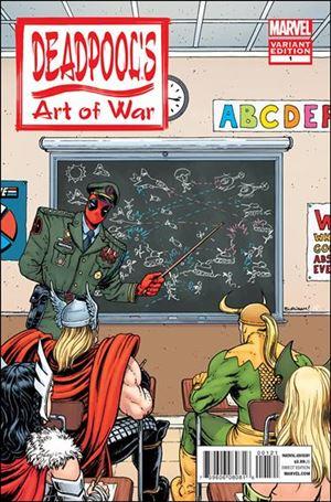 Deadpool's Art of War 1-B