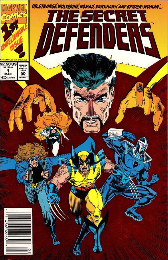 Secret Defenders 1-A by Marvel