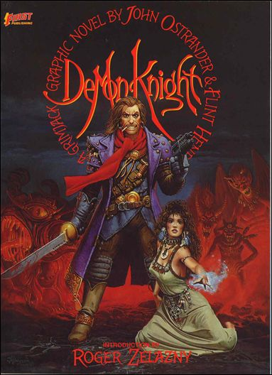 Demon Knight: A Grimjack Graphic Novel 1-A by First