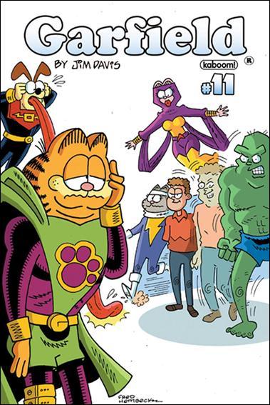 Garfield 11-B by Kaboom!