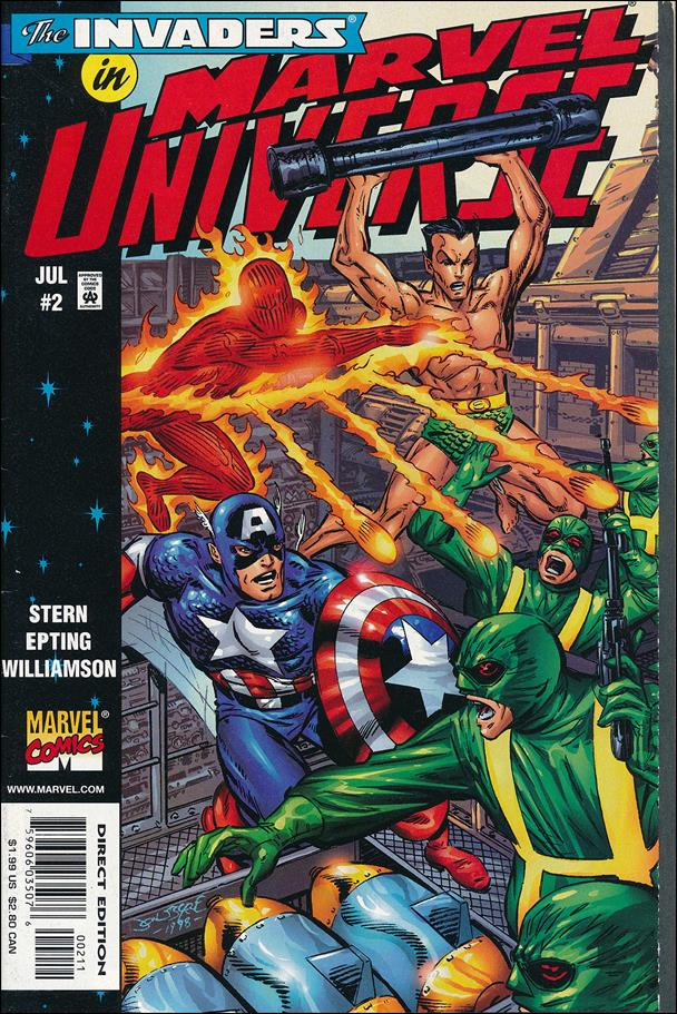 Marvel Universe 2-A by Marvel