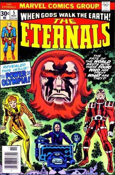 Eternals (1976) 5-A by Marvel