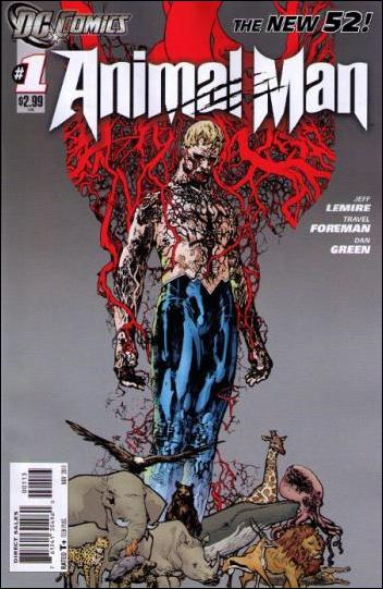 Animal Man (2011) 1-C by DC
