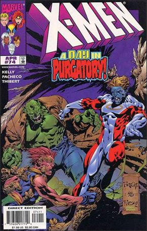 X-Men (1991) 74-A