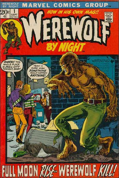 Werewolf by Night (1972) 1-A by Marvel