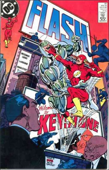 Flash (1987) 32-A by DC
