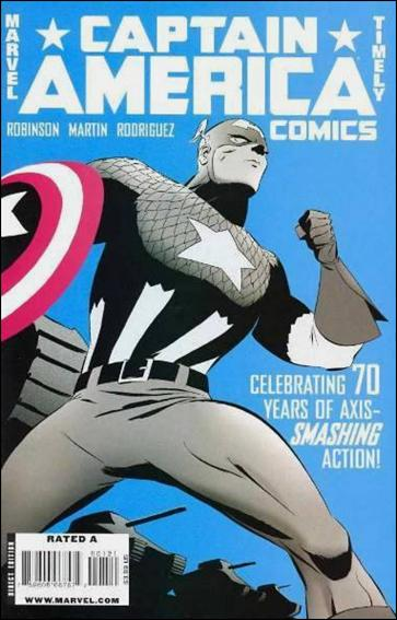 Captain America Comics 70th Anniversary Special 1-B by Marvel