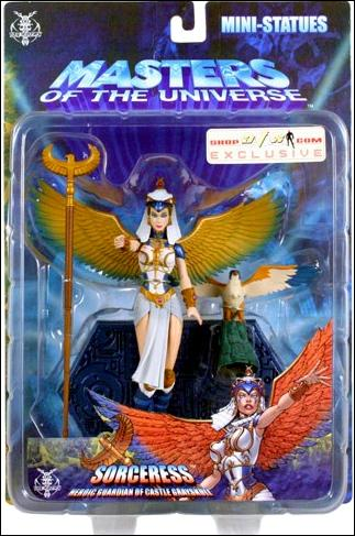 Masters of the Universe (Modern Series) Mini-Statues Sorceress (Classic) AFX Exclusive by NECA