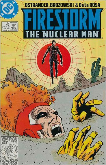 Firestorm The Nuclear Man (1987) 74-A by DC