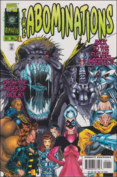 Abominations 1-A by Marvel